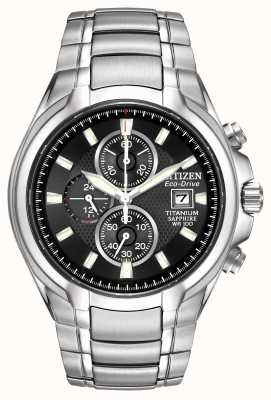 Citizen Mens eco-drive titane CA0260-52E