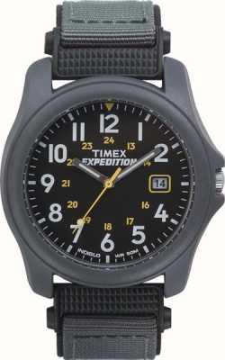 Timex Montre d'expédition en nylon avec cadran gris foncé pour homme T42571