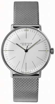 Junghans Max facture à remontage manuel | bracelet en maille d'acier | 027/3004.48