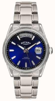 Rotary Bracelet en acier inoxydable La Havane montre de Gent GB02660/05