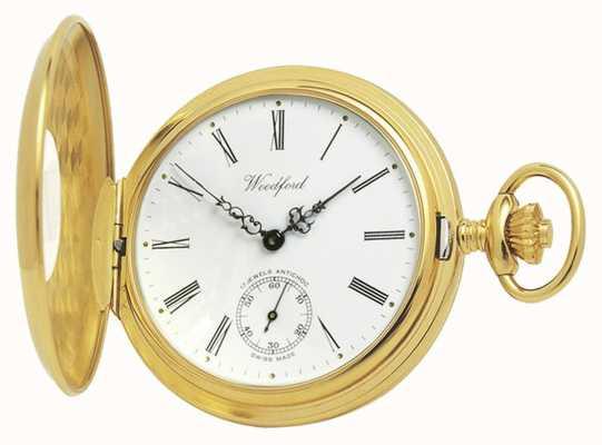 Woodford | demi chasseur | plaqué or | montre de poche | 1015