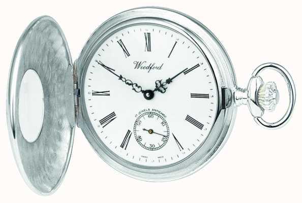 Woodford | demi chasseur | argent sterling | montre de poche | 1004