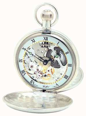 Woodford Argent double couvercle pocketwatch 1065