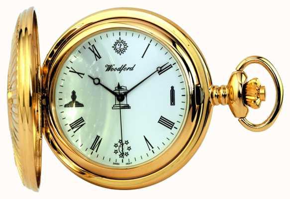 Woodford montre de poche maçonnique 1214
