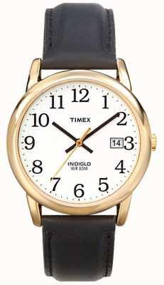 Timex Mens blanc noir facile montre lecteur T2H291