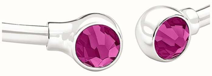 Chamilia accents de bracelet en cristal swarovski - fuchsia 1025-0003