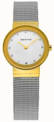Bering Temps dames or et d'argent maille classique 10122-001