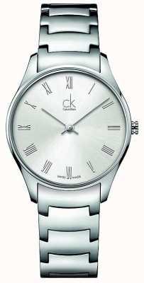 Calvin Klein Montre classique dames en acier inoxydable K4D2214Z
