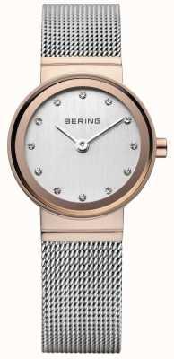Bering classique de femmes montre en or rose-ton 10126-066