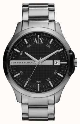 Armani Exchange Gents smart montre ton argent AX2103