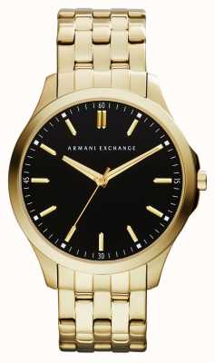 Armani Exchange Mens hampton profil bas montre AX2145