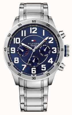 Tommy Hilfiger Montre Trent chronographe bleu pour homme 1791053