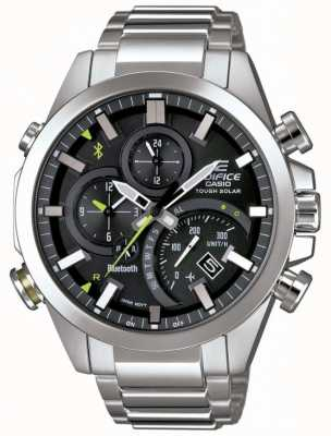 Casio Edifice bluetooth synchro solaire intelligent smartwatch noir EQB-501D-1AER