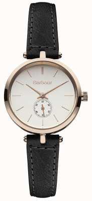 Barbour Lisle cuir noir bracelet de montre BB011RSBK