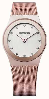 Bering Mesdames acier inoxydable montre analogique à quartz 12927-366