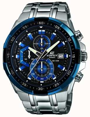 Casio Mens edifice montre chronographe EFR-539D-1A2VUEF