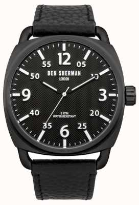 Ben Sherman Mens montre Covent chevrons WB008B