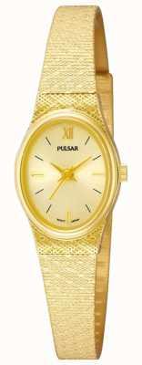 Pulsar Montre dames pulsar | bracelet en maille d'or | PK3032X1