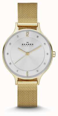 Skagen Mesdames plaqué or anita montre bracelet SKW2150