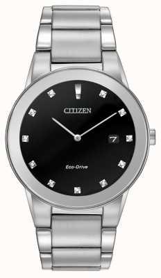 Citizen | axiome eco-drive pour hommes | cadran en diamant noir | AU1060-51G