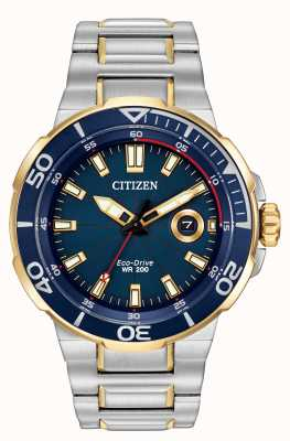 Citizen montre Mens entreprise eco-drive AW1424-54L