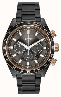 Citizen Gunmetal montre Eco-Drive CA4207-53H