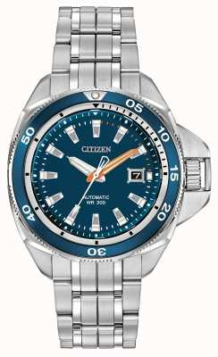 Citizen Acier inoxydable sport grand signature automatique NB1031-53L