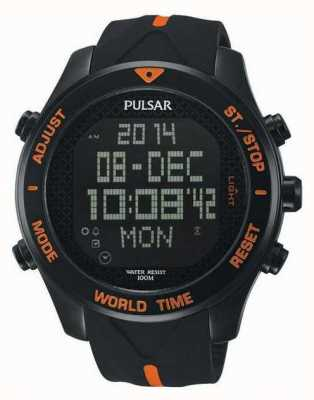 Pulsar Mens pulsar montre chronographe alarme PQ2037X1
