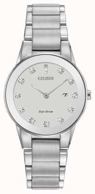 Citizen Womens axiome eco-drive inoxydable GA1050-51B