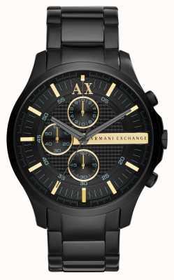 Armani Exchange Mens tout chronographe noir AX2164