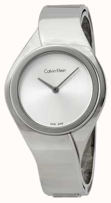 Calvin Klein Mesdames acier inoxydable montre analogique à quartz K5N2M126