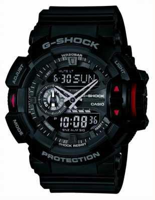 Casio Mens G-Shock montre chronographe noir GA-400-1BER