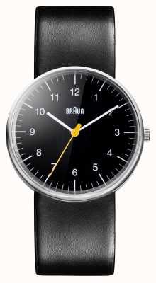 Braun Mens tout montre à quartz noir BN0021BKBKG