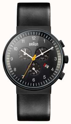 Braun Hommes chronographe de la montre tout en noir BN0035BKBKG