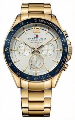 Tommy Hilfiger Mens luke or montre de ton 1791121