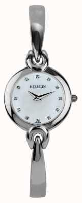 Michel Herbelin boîtier en acier inoxydable Ladies, de nacre 17001/B59