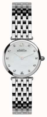 Michel Herbelin Mesdames acier inoxydable montre epsilon 1045/B59