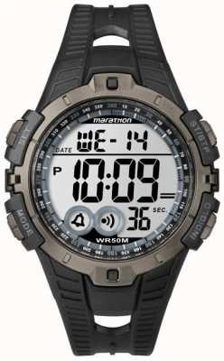 Timex Chronographe d'alarme pour homme indiglo marathon T5K802