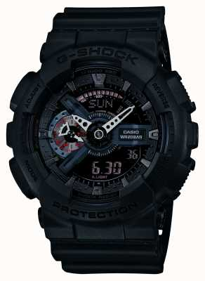 Casio Edition limitée g-shock mens accents rouges GA-110MB-1AER