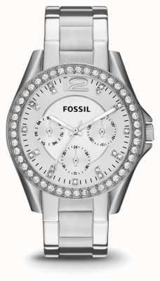 Fossil Mesdames riley acier inoxydable ES3202