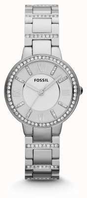 Fossil acier inoxydable Femmes virginie ES3282