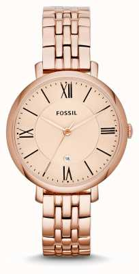 Fossil Mesdames Jacqueline Rose plaqué or PVD ES3435