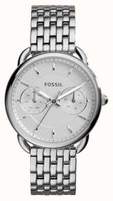 Fossil Mesdames mesure en acier inoxydable ES3712