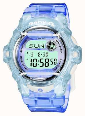 Casio Baby-g lilas / femmes bleu montre numérique BG-169R-6ER