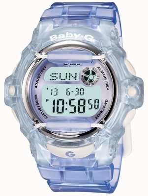 Casio Montre numérique pour femmes Baby-G Lilas / Bleu BG-169R-6ER