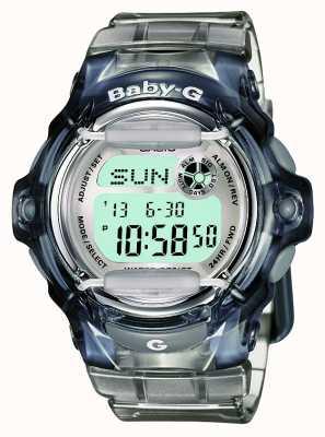 Casio Baby-G transparent numérique pour femmes BG-169R-8ER