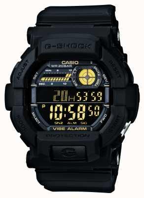 Casio G-choc vibrant montre 5 d'alarme jaune noir GD-350-1BER