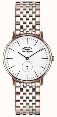 Rotary Mens les originales deux tons GB90057/06