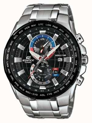Casio Mens édifice chronographe en acier inoxydable EFR-550D-1AVUEF