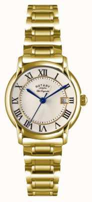 Rotary Womens les originales carviano plaque pvd or LB90143/03